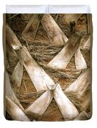 Palm Tree Bark Duvet Cover