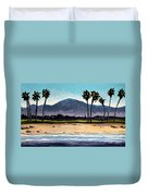 Palm Tree Oasis Duvet Cover