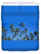 Palm Tree Panorama Duvet Cover