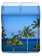 Palm Tree Tops Duvet Cover