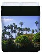 Palm Trees. My Beautiful California Duvet Cover