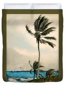 Palm Trees - Nassau Duvet Cover