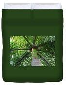 Palm Unbrella Duvet Cover
