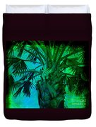 Palm Visions Duvet Cover