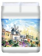 Palma De Mallorca Panoramic 03 Duvet Cover