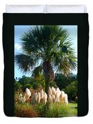 Palmetto Tree  Duvet Cover