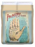 Palmistry Guide Duvet Cover