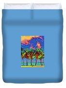 Palms 2 Duvet Cover