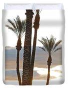 Palms And Light Duvet Cover
