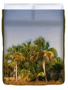 Palms - Naples Florida Duvet Cover