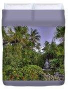 Palms Pool Duvet Cover