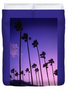 Palms Duvet Cover