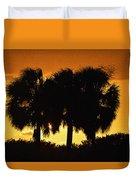 Palmset Duvet Cover