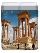 Palmyra-tetrapylon Duvet Cover