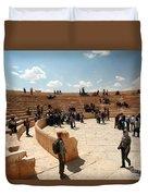 Palmyra-theater Duvet Cover