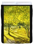 Palo Verde Pathway Duvet Cover