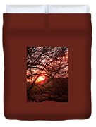 Palo Verde Sunset Duvet Cover