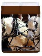 Palomino Horses Duvet Cover