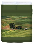 Palouse Farm 1 Duvet Cover