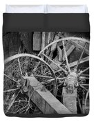 Palouse Farm Wheels 3156 Duvet Cover