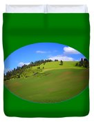 Palouse - Landscape - Transparent Duvet Cover
