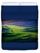 Palouse - Later Afternoon Duvet Cover