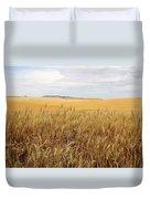 Palouse Wheat Fields Duvet Cover