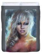 Pamela Anderson Duvet Cover
