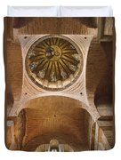Pammakaristos Church Interior Duvet Cover