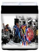 Pan Flutes In Cuenca Duvet Cover