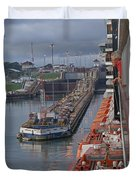 Panama Canal Duvet Cover