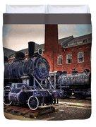 Panama Railroad Locomotive 299 Duvet Cover