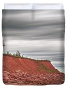 Panmure Island Lighthouse Duvet Cover