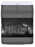 Pano Of The Fort William Starch Company At Sunset Duvet Cover