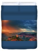 Panorama North Rim Grand Canyon Arizona Duvet Cover