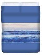 Panorama Ocean Painting Duvet Cover