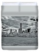 Panorama Of New York City Duvet Cover