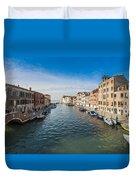 Panorama Of Venice Duvet Cover