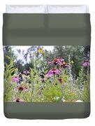 Panoramic Bouquet Duvet Cover