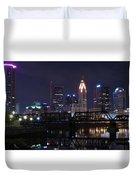 Panoramic Columbus Duvet Cover