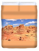 Panoramic Desert Landscape Fantasyland Duvet Cover