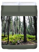 Panoramic Forest Duvet Cover