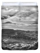 Panoramic Of The Grand Canyon Duvet Cover