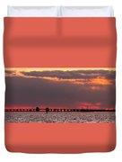 Panoramic Sunset 3-18-2016 V2 Duvet Cover
