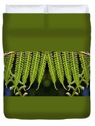 Panoramic Veil Of Ferns Duvet Cover