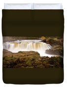 Panoramic Waterfall Manitoba Duvet Cover