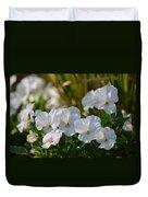 Pansies 15-02 Duvet Cover