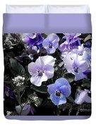 Violas Ocean Dream Duvet Cover