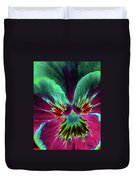 Pansy 01 - Photopower - Thoughts Of You Duvet Cover