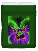 Pansy 02 - Photopower - Thoughts Of You Duvet Cover